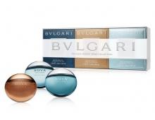 Набор Bvlgari The Aqva Pocket Spray Collection 3 x 15 ml